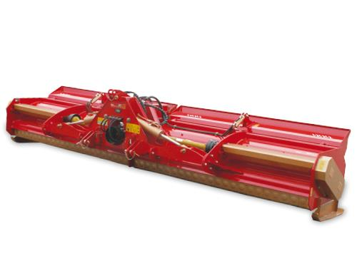 Professional range - Professional folding row crops shredder suitable for big power tractors
