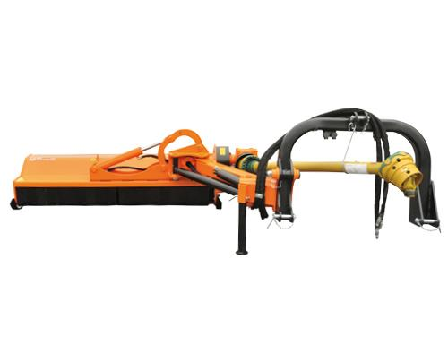 Professional range - Lateral flail mower moved by a parallelogram arm, suitable for big power tractors