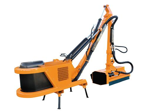 Professional range - Hedge-cutter with maximum reach 6,00 m suitable for medium and big tractors