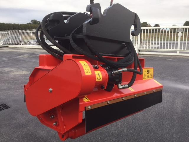 Hydraulic forestry cutting head for excavators from 12 ton
